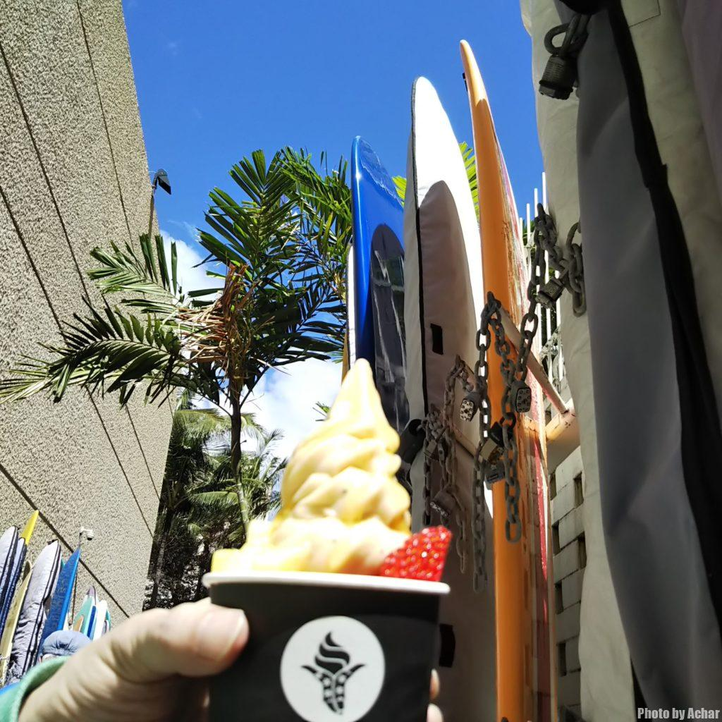 Bananのオリジナルソフトクリーム