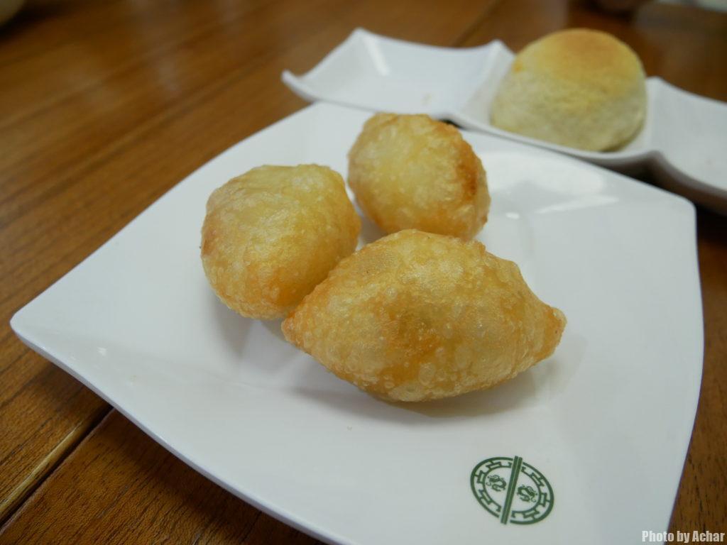 Deep Fried Dumplings with Pork and Dried Shrimp