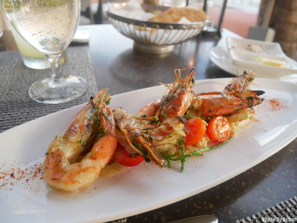 カウアイ産海老のガーリック火鉢グリル(Hibachi Garlic Kauai Shrimp)