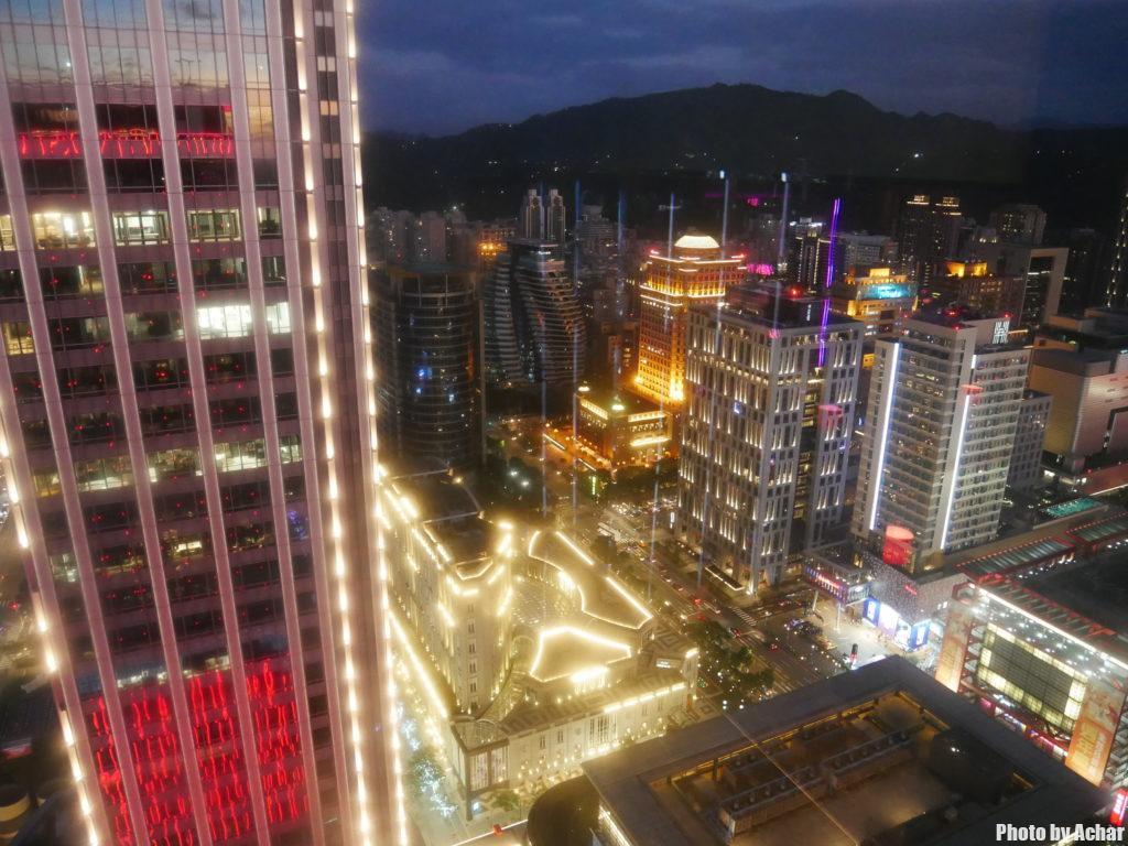 31階からの夜景