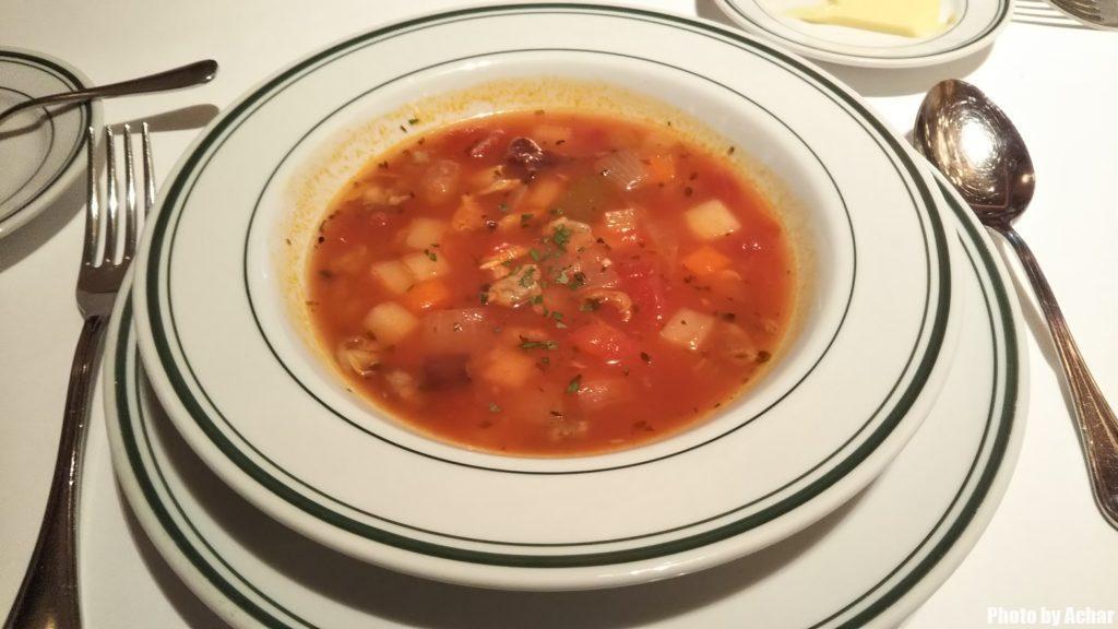クラムチャウダースープ