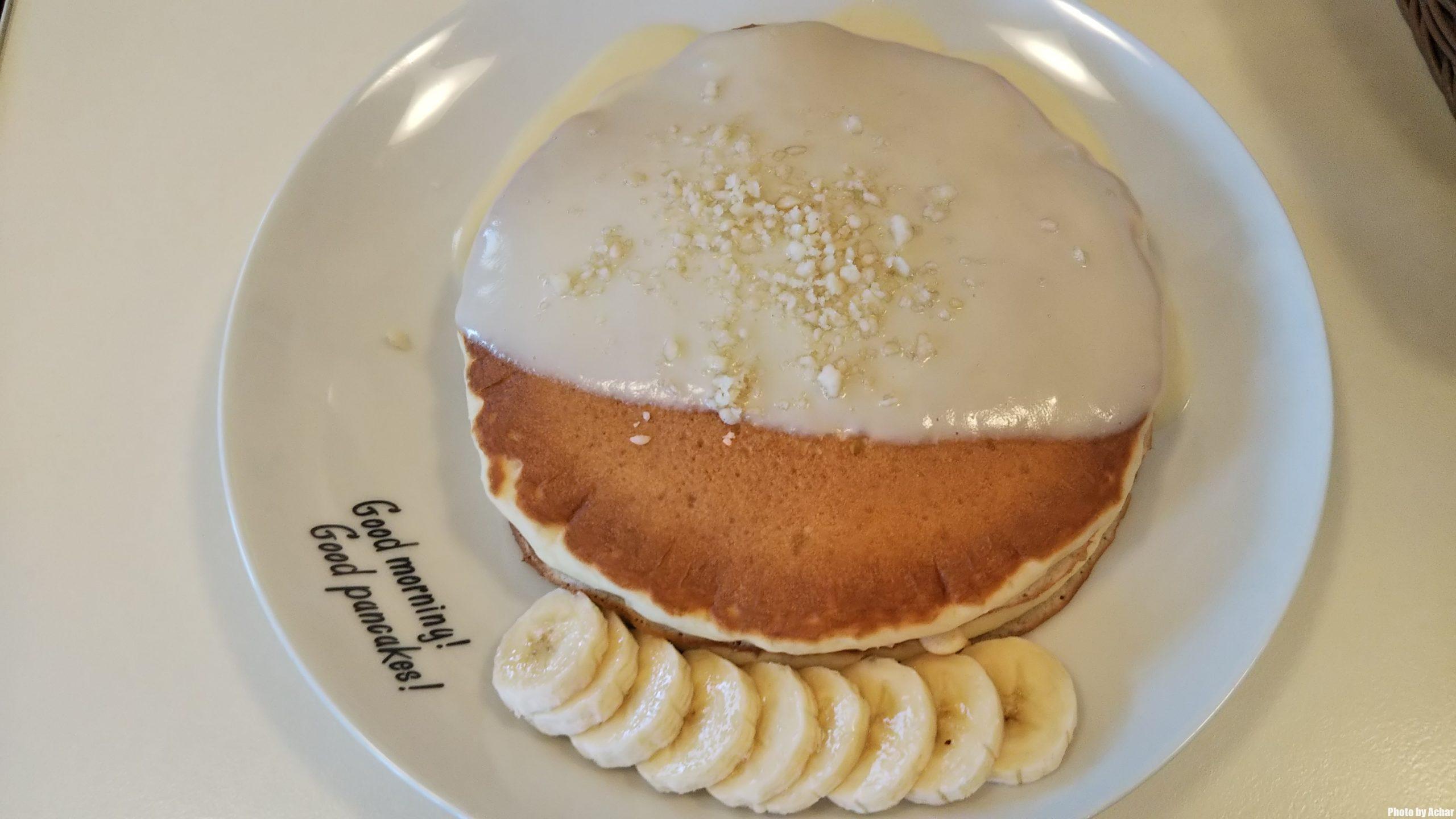 ナッツナッツパンケーキ