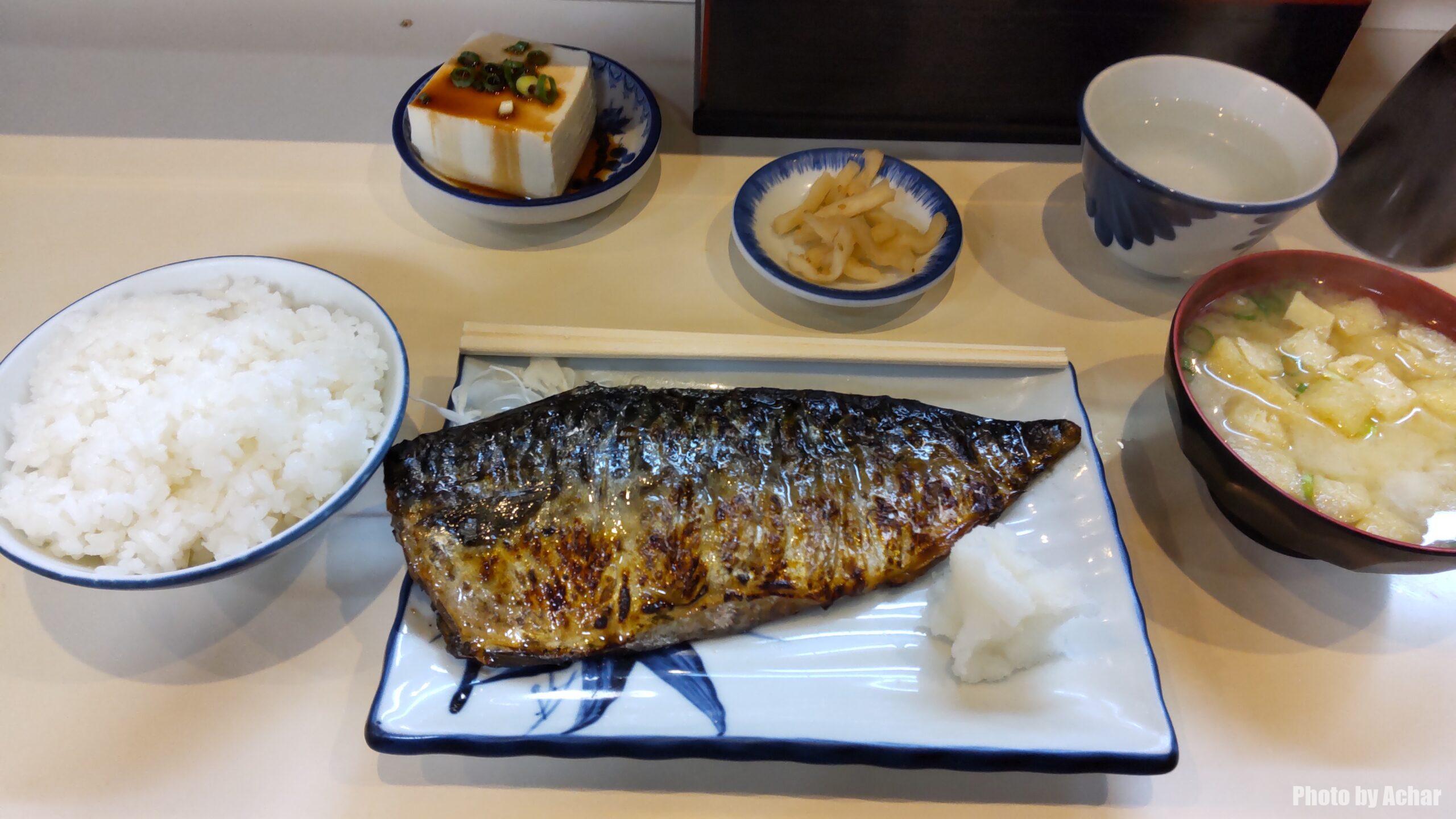 焼サバ定食